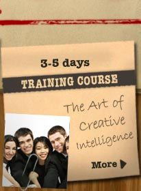 The art of creative intelligence course, 3 - 5 days