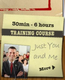 Just you and me course, 3 - 6hrs